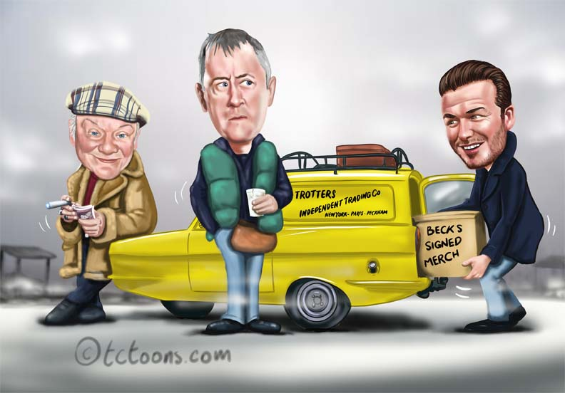only fools and horses illustration